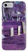 Haunted Cemetery IPhone Case
