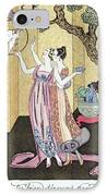 Have You Had A Good Dinner Jacquot? IPhone Case by Georges Barbier