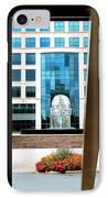Head From Afar IPhone Case by Randall Weidner