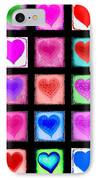 Heart Collage IPhone Case by Cindy Edwards