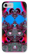 Hearts Ballet Curtain Call Fractal 121 IPhone Case by Rose Santuci-Sofranko