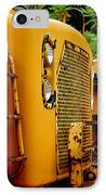Heavy Equipment IPhone Case by Amy Cicconi