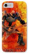 Heavy Metal IPhone Case by Frederico Borges