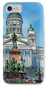 Helsinki Finland IPhone Case