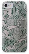 Henna IPhone Case by M Ande
