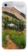 Hiking In La Sal IPhone Case