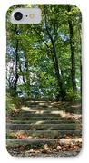 Hiking In Virginia Kendall IPhone Case by Kristin Elmquist