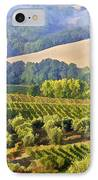 Hills Of Tuscany IPhone Case