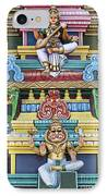 Hindu Temple Deity Statues IPhone Case by Tim Gainey