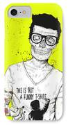 Hipsters Not Dead IPhone Case