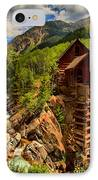 Historic Colorado IPhone Case by Adam Jewell