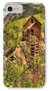 Historic Crystal Colorado IPhone Case by Adam Jewell