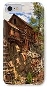 Historic Crystal Mill IPhone Case by Adam Jewell