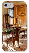 Historic Governor Council Chamber IPhone Case by Olivier Le Queinec