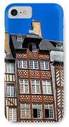 Historic Rennes IPhone Case by Jane Rix