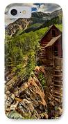 History In Crystal IPhone Case