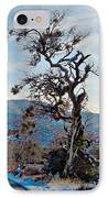 Hitchhiker On Highway 173 IPhone Case