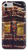 Home Holiday Lights 2011 IPhone Case by Feile Case