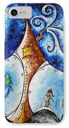 Home Sweet Home IPhone Case by Megan Duncanson