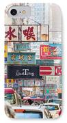 Hong Kong Streets IPhone Case