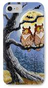 Hooty Whos There IPhone Case by Richard De Wolfe