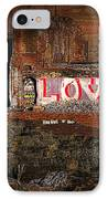Hope Love Lovelife IPhone Case by Bob Orsillo