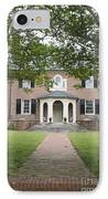 Hornsby House Inn Yorktown IPhone Case by Teresa Mucha