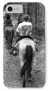 Horse Trail IPhone Case by Frozen in Time Fine Art Photography