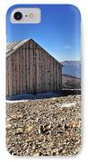 Horseshoe Mountain Mining Shack IPhone Case by Aaron Spong
