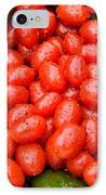 Hot Peppers And Cherry Tomatoes IPhone Case by James BO  Insogna