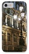 Hotel De Ville In Paris IPhone Case by Elena Elisseeva