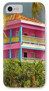 Hotel Jamaica IPhone Case by Linda Bianic