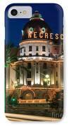 Hotel Negresco By Night IPhone Case