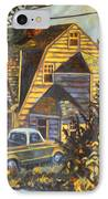 House In Christiansburg IPhone Case by Kendall Kessler