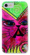 House Of Cats Series - Glitter IPhone Case