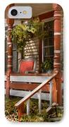 House - Porch - Traditional American IPhone Case
