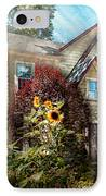 House - Westfield Nj - The Summer Retreat  IPhone Case by Mike Savad