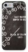 How Deep Is The Sea IPhone Case