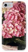 Hydrangea On The Veranda IPhone Case