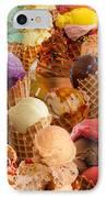 Ice Cream Crazy IPhone Case