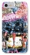 Ice Number Four IPhone Case by Bob Orsillo