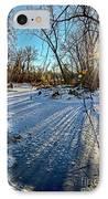 Ice Pond Sunset IPhone Case