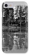 Icy Pond Reflects IPhone Case by Frozen in Time Fine Art Photography