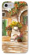 Il Cortile IPhone Case by Guido Borelli