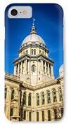 Illinois State Capitol In Springfield Illinois IPhone Case
