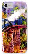 Impressionistic Photo Paint Gs 016 IPhone Case by Catf