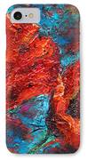 Impressionistic Red Poppies IPhone Case