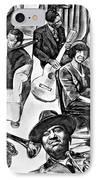 In Praise Of Jazz II IPhone Case by Steve Harrington
