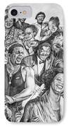 In Praise Of Jazz IPhone Case by Steve Harrington