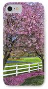 In The Pink IPhone Case by Debra and Dave Vanderlaan